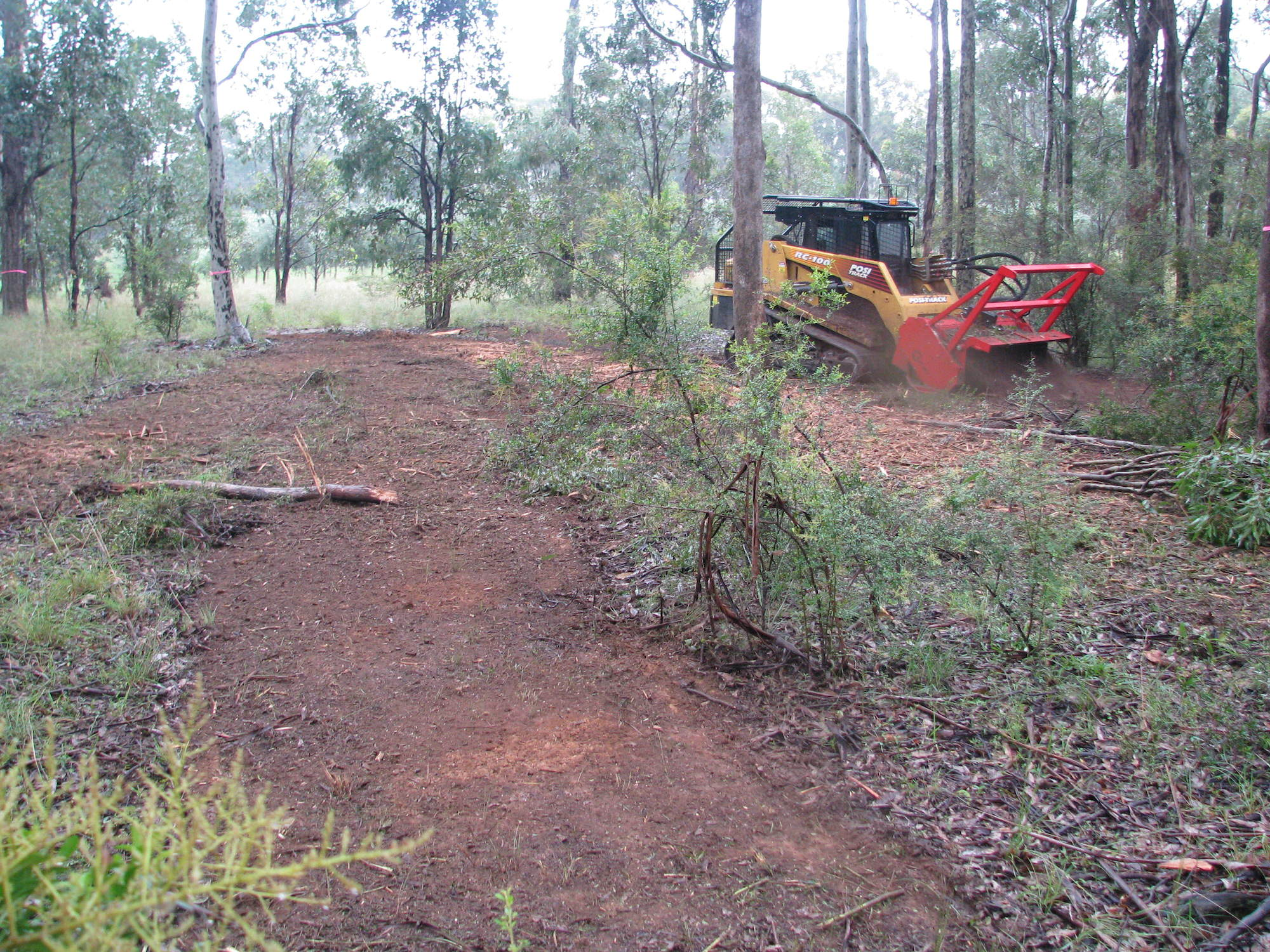 Block Clearing | J K Cooper Tree Services